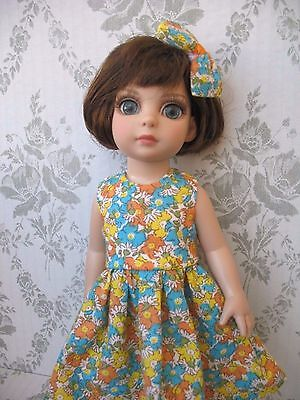 """Tonner Patsy, Anne Estelle Doll Clothes 10"""" Dress and Hair Snap"""