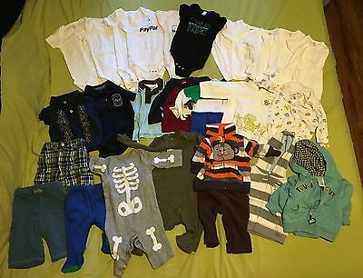 Baby boy mix lot of clothes size 3-6 months 27 Pc Baby Gap Gymboree Carters