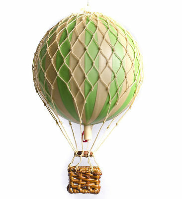 Authentic Models Floating the Skies Hot Air Balloon Replica, Color: True Green