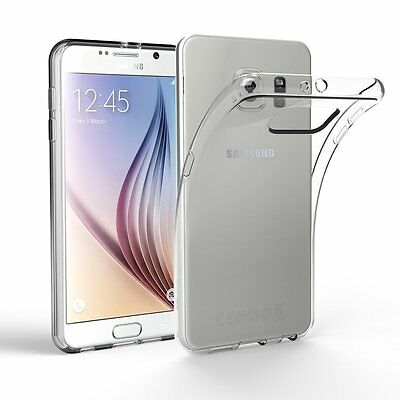 For Samsung Galaxy S6 Case - Ultra Thin Clear TPU Silicon Soft Back Cover