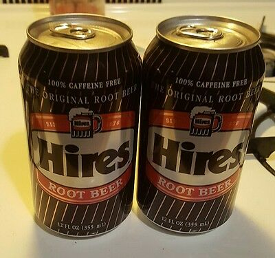 Hires Root Beer 12 oz. Can Full new drinkable delicious