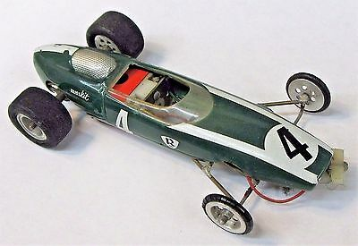 1960's LOTUS Vac-form on hand made chassis w/Classic 26D motor slot car 1:24