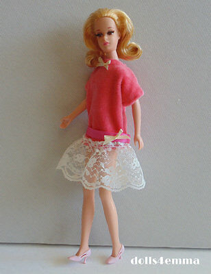 Vintage Style DRESS handmade for Francie & Casey dolls clothes Fashion NO DOLL