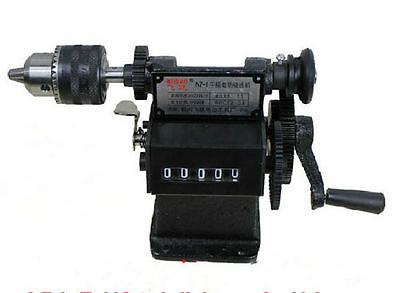 NZ-1 Manual Hand Coil Electric Dual-purpose Counting Winding Winder Machine e