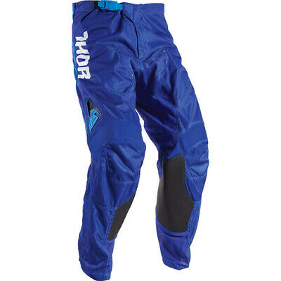 Thor S17 Youth Pulse Air TyDy Motocross Pants Blue