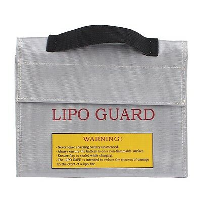 Lipo Battery Fireproof Case Memory Protector Safe Charging Holder 215 x 45 Z6S11