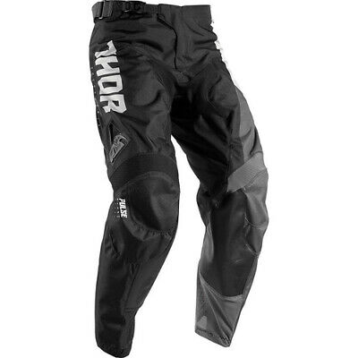 Thor S17 Youth Pulse Activ Pants White/Black