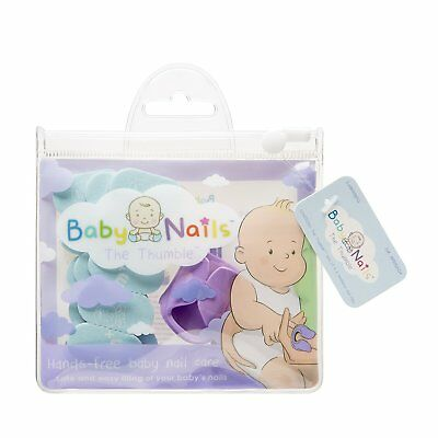 6 months+ Baby Nails Hands-Free Nail Files Standard Pack