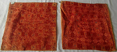 Beautiful Handmade Old Vintage Patch Work Cushions/pillow Cover India Fine Art14