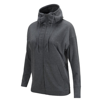 Peak Performance Structured Hoodie with Relaxed Fit in Dark Grey
