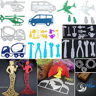 DIY Metal Cutting Dies Scrapbooking Embossing Folder Craft Handcraft Paper Decor