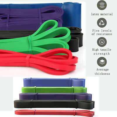 Heavy Duty Best Pull Up Assist Band Long-Lasting Strength Resistance Band Lead
