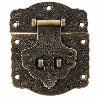 Durable Antique Bronze Latch Hasp Lock For Decorative Jewelry Wooden Box Toolbox
