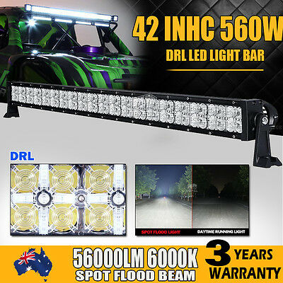 42INCH 960W Philips Led Light Bar Offroad Driving Work Lamp Spot Flood Combo 4WD