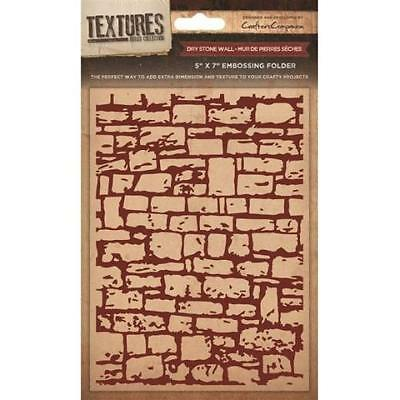 Textures Collection Embossing Folder - Dry Stone Wall EF5 DRYW