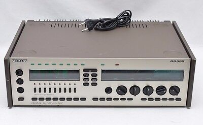 Siemens RS555 Vintage Stereo Receiver Digital Synthesizer Steuergerät #27