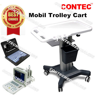 Mobile Trolley Cart, Trolley wheel Stand,Hand push,For Ultrasound Scanner