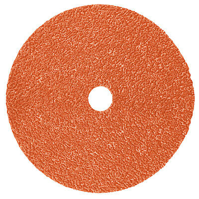 "3M Fiber Disc 987C, Precision Shaped Ceramic Grain, 7"" x 7/8"", 80+ Grit"