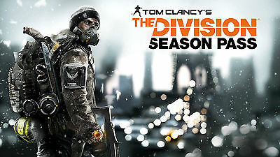 Tom Clancy's The Division Season Pass Code DLC PAL Xbox One