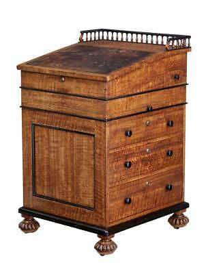 Early 19Th Century Oak English Davenport Desk