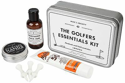 Men's Society Golf Essentials Kit in a Tin Travel Fathers Day Gift