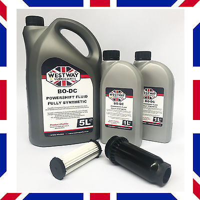 7L Ford Powershift Gearbox Fluid Kit BO-DC & Filter by Westway Lubricants UK