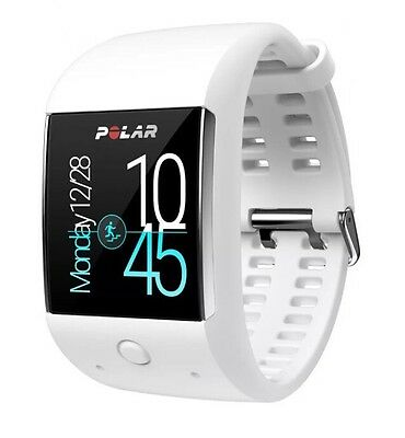 Polar Unisex M600 Sports Watch Powered By Android Wear - White