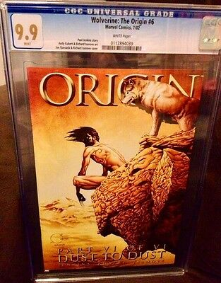 Wolverine The Origin 6 CGC 9.9 MINT WP Not 9.8 or 10.0 or Gem 10 Last Issue