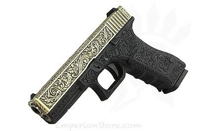 WE AIRSOFT G17 Carved Patterns GBB Airsoft Softair Pistol