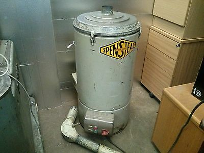 Dust Extractor Control Unit - 3 Phase - Spenstead - Industrial Metal Work