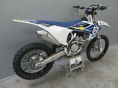 Husqvarna FC 250 2016 Ricci racing with 2017 forks,motor & clamps  MINT 722