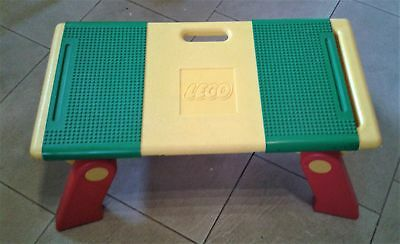 Lego Rare Official Folding Play Table with Sliding Base Boards and Storage Areas
