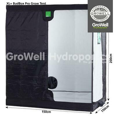 New! Budbox Pro Xl+ White Indoor Growing Room Tent (1.5M X 1.5M X 2M)   Growell