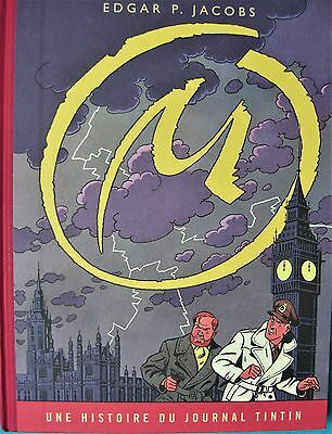 "BD Blake & Mortimer ""LA MARQUE JAUNE"" version journal Tintin"