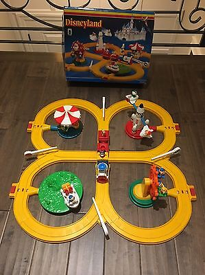 Rare Disneyland Vintage Train Set With Working Train