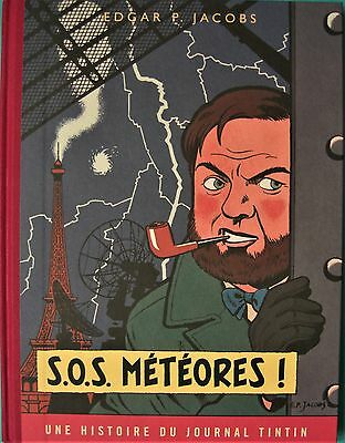 "BD Blake & Mortimer ""S.O.S METEORES"" version journal Tintin"