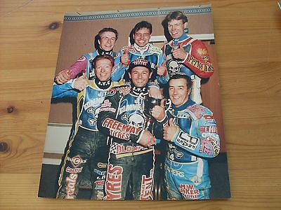 Speedway Press Photograph-Poole Team.