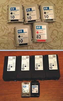Lotto 21 cartucce vuote HP / Stock 21 empty HP cartridges