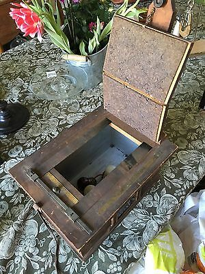 Antique  Film /CONTACT PRINTER/ Wooden Box orig old