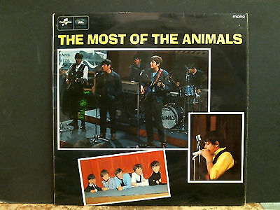 ANIMALS  Most Of The Animals  LP   Mono UK pressing   Great !