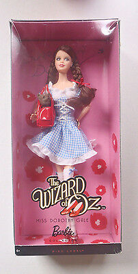 Barbie Collector Wizard of Oz Miss Dorothy Gale Doll, 2010 Pink Label