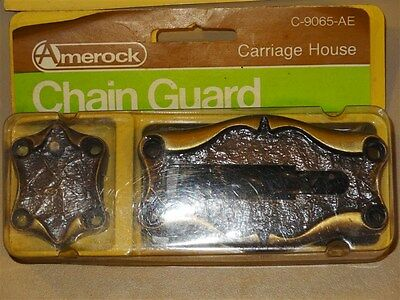 Vintage NOS AMEROCK Carriage House * Door Chain Guard