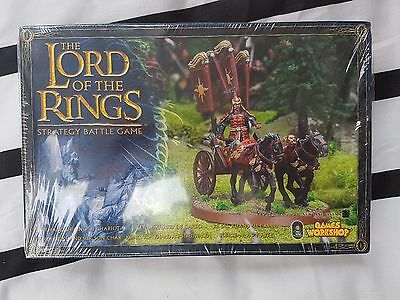 Khandish King in Chariot NIB Lord of the Rings Warhammer Rare