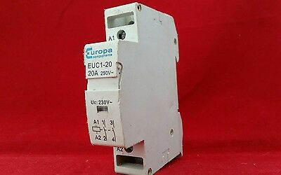 Europa Euc1-20 20A 20Amp 250V Single Pole Sp 1P Contactor