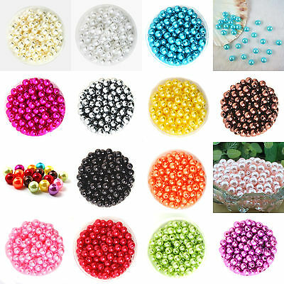 20 Perle imitation Brillant 8mm Couleur au choix Creation Bijox, Collier ...