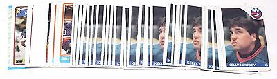 1985-1989 Topps Kelly Hrudey Lot Of 59 Cards 1986  1987 1988 Hky041