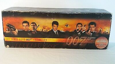 The James Bond 007 Collection VHS Box Set 20No. Video Tapes