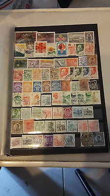 80 timbres (au moins) de Yougoslavie (lot E)