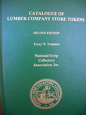 TRANTOW CATALOGUE OF LUMBER CO. STORE TOKENS / COAl  SCRIP SECOND EDITION
