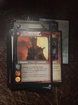 LoTr Reflections Complete Set All R and R+, Rare Complete